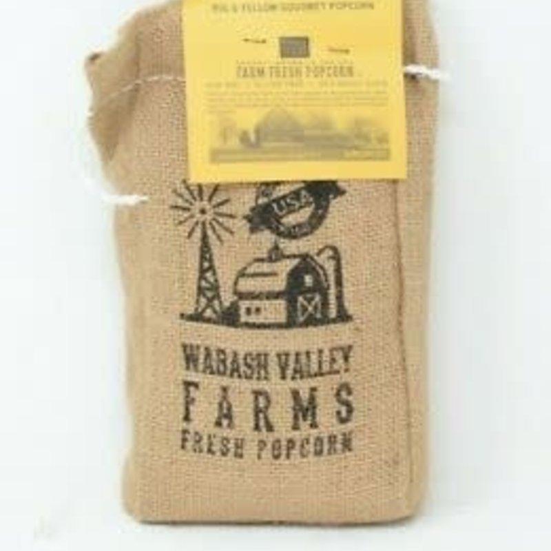 Gourmet Popping Corn in Burlap Bag (2 lb.)
