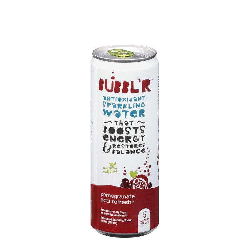 Bubbl'r Sparkling Water - Pomegranate Açaí