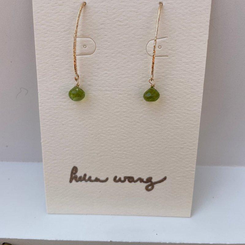Helen Wang Jewelry Earrings - 14K Gold-Filled Peridot