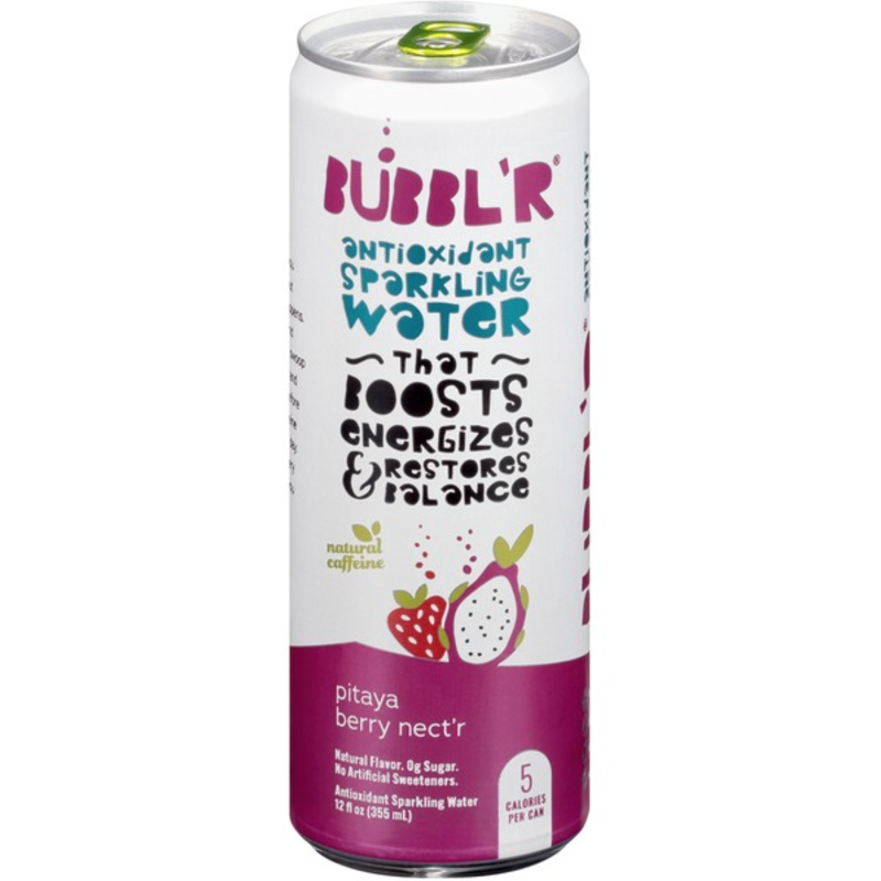 Bubbl'r Sparkling Water - Pitaya Berry Nect'r
