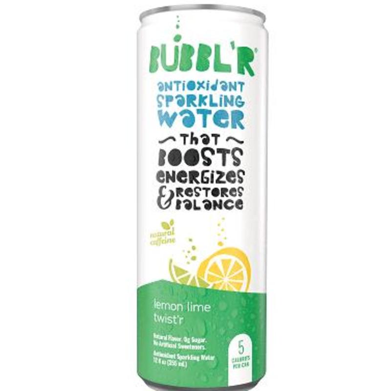 Bubbl'r Sparkling Water - Lemon Lime Twister