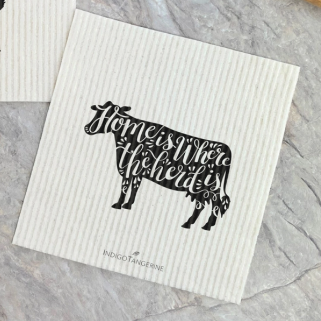 Swedish Dishcloth - Cow