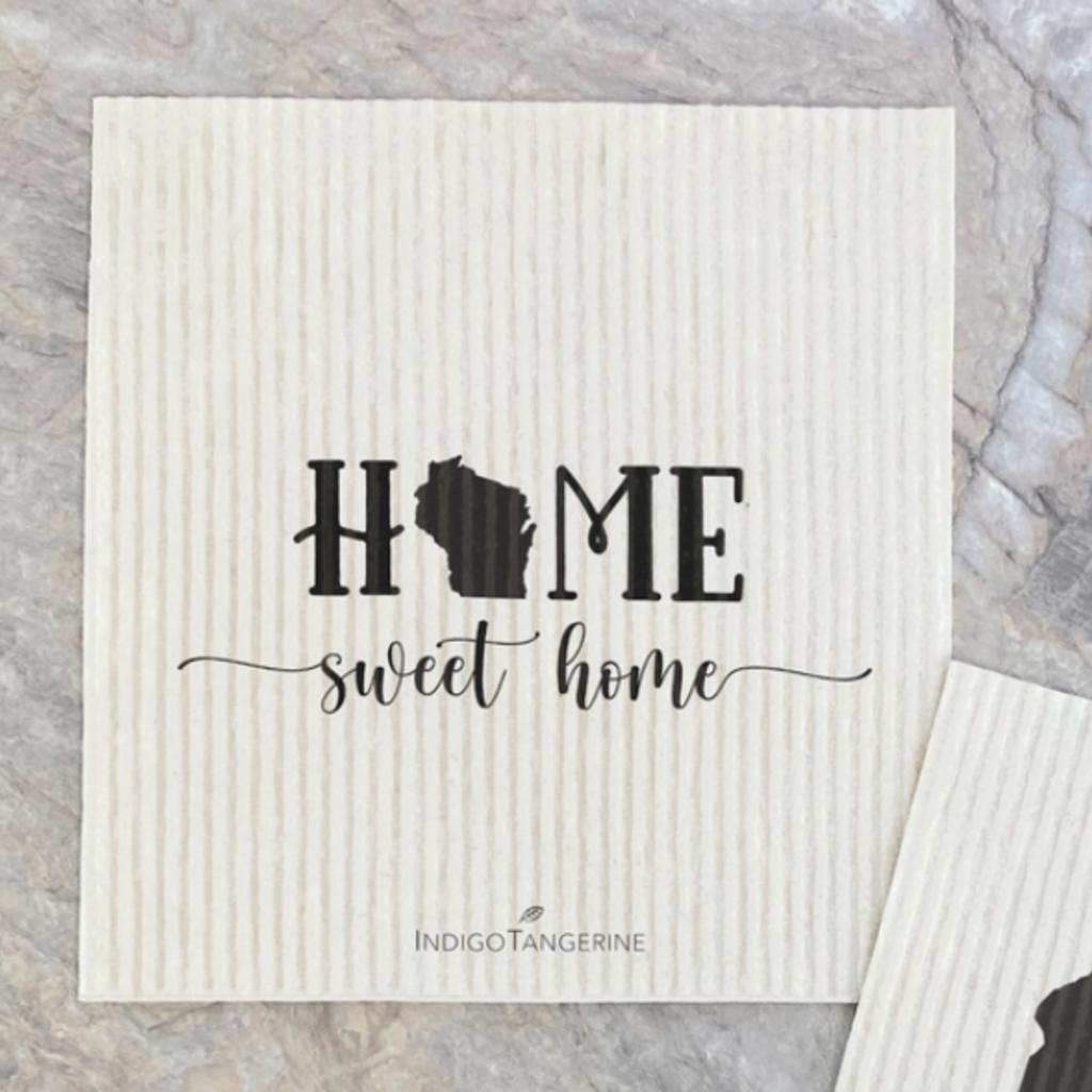 Swedish Dishcloth - Home Sweet Home