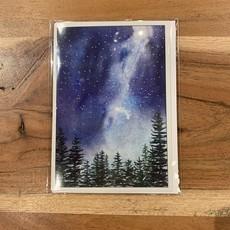 Amy Beidleman Night Sky Milky Way Greeting Card