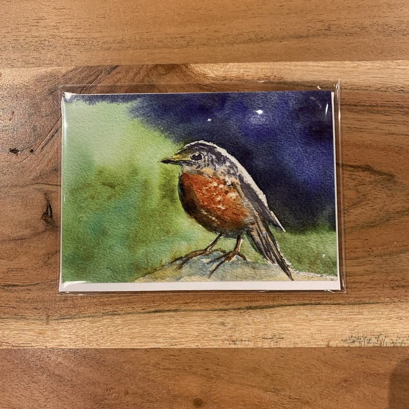 Amy Beidleman Thank You Bird Greeting Card