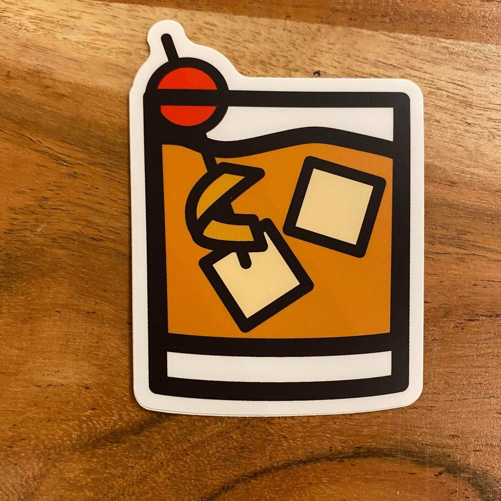 Sticker - Old Fashioned