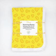 Cheesy Organic Cotton Baby Blanket