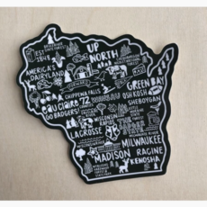 Sticker - Wisconsin Icons