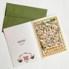 Keep the Faye Wonders of Wisconsin Greeting Card