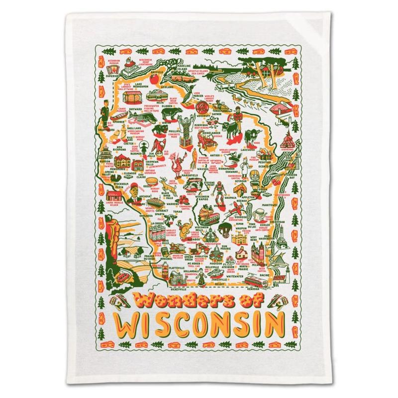 Keep the Faye Towel - Wonders of Wisconsin