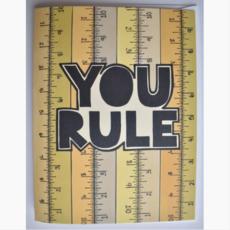 Greeting Card - You Rule