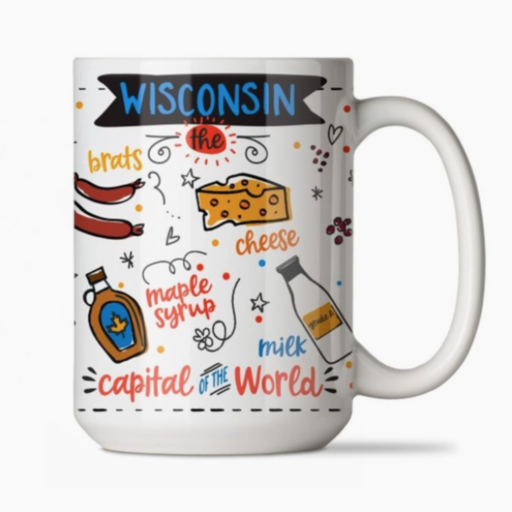 Volume One Ceramic Mug - Wisconsin Foods