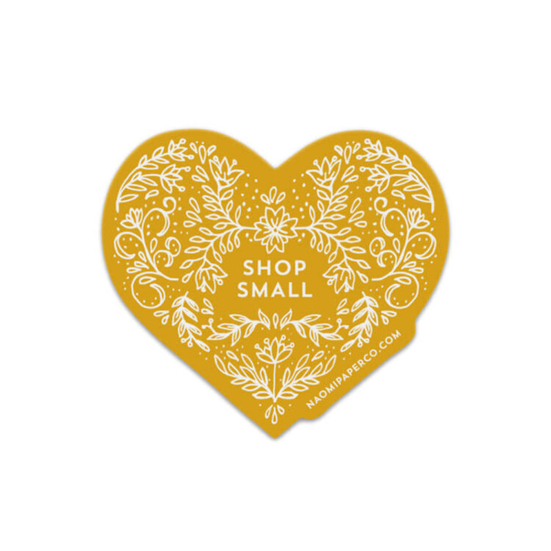 Sticker - Shop Small Heart