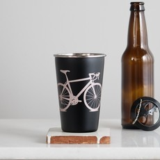 Vital Industries (WI) Stainless Steel Pint Tumbler - Eau Claire Bicycle