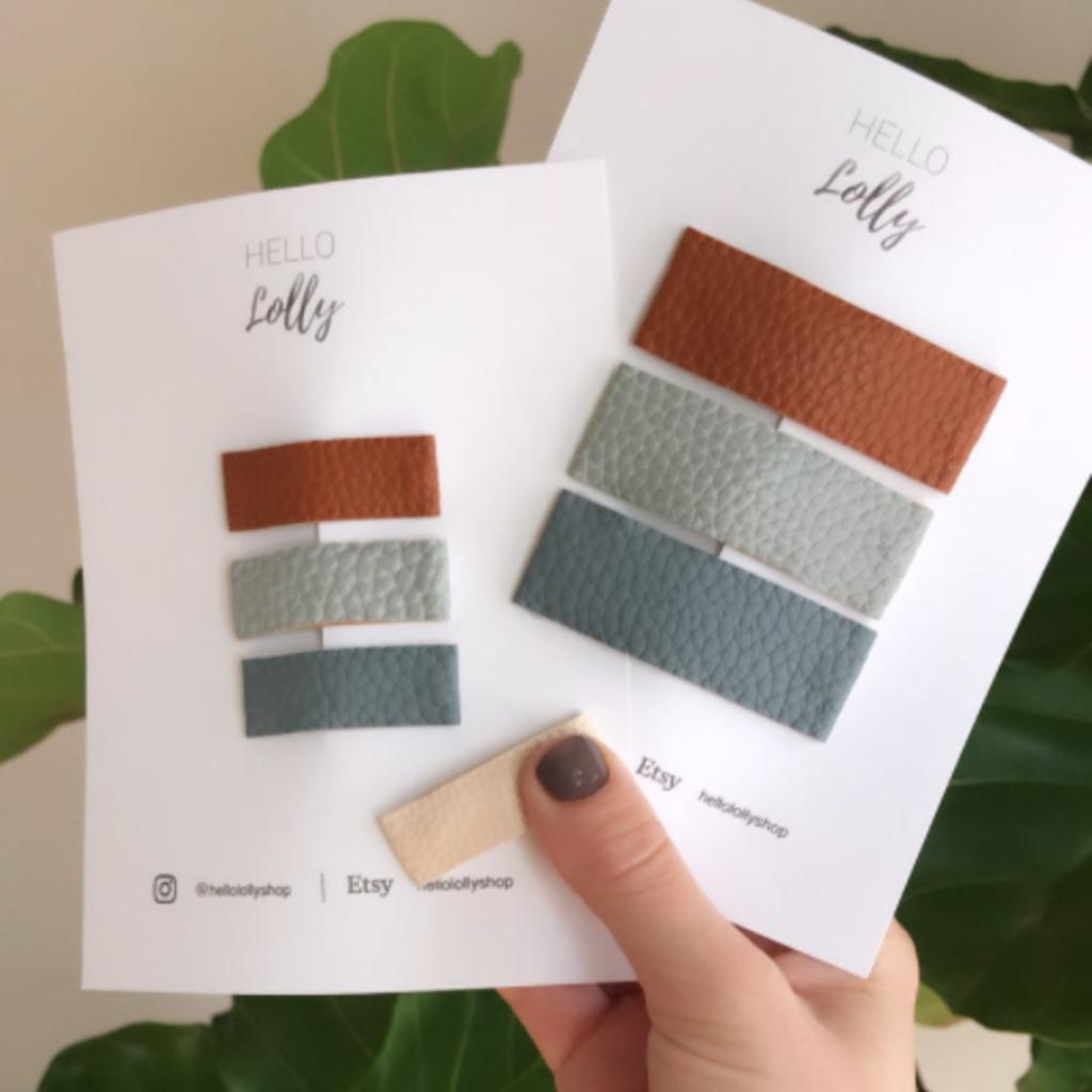 Mini Fabric Clips (Set of 3)