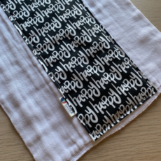 Liddle Handmade Baby Burp Cloth (assorted)