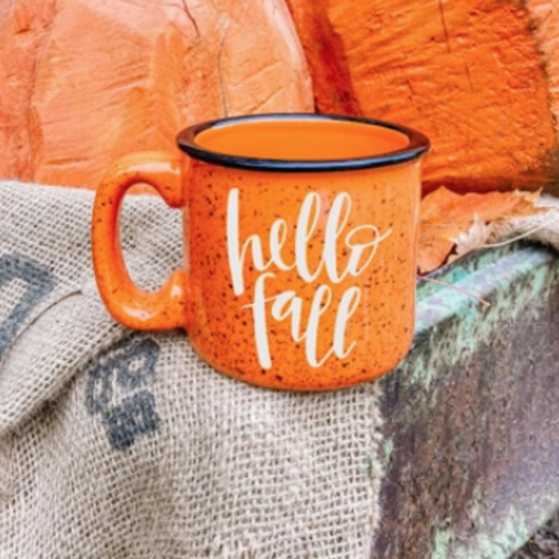 NAP Creations Hello Fall Campfire Mug
