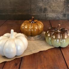 Rowe Pottery - Glazed Pumpkin