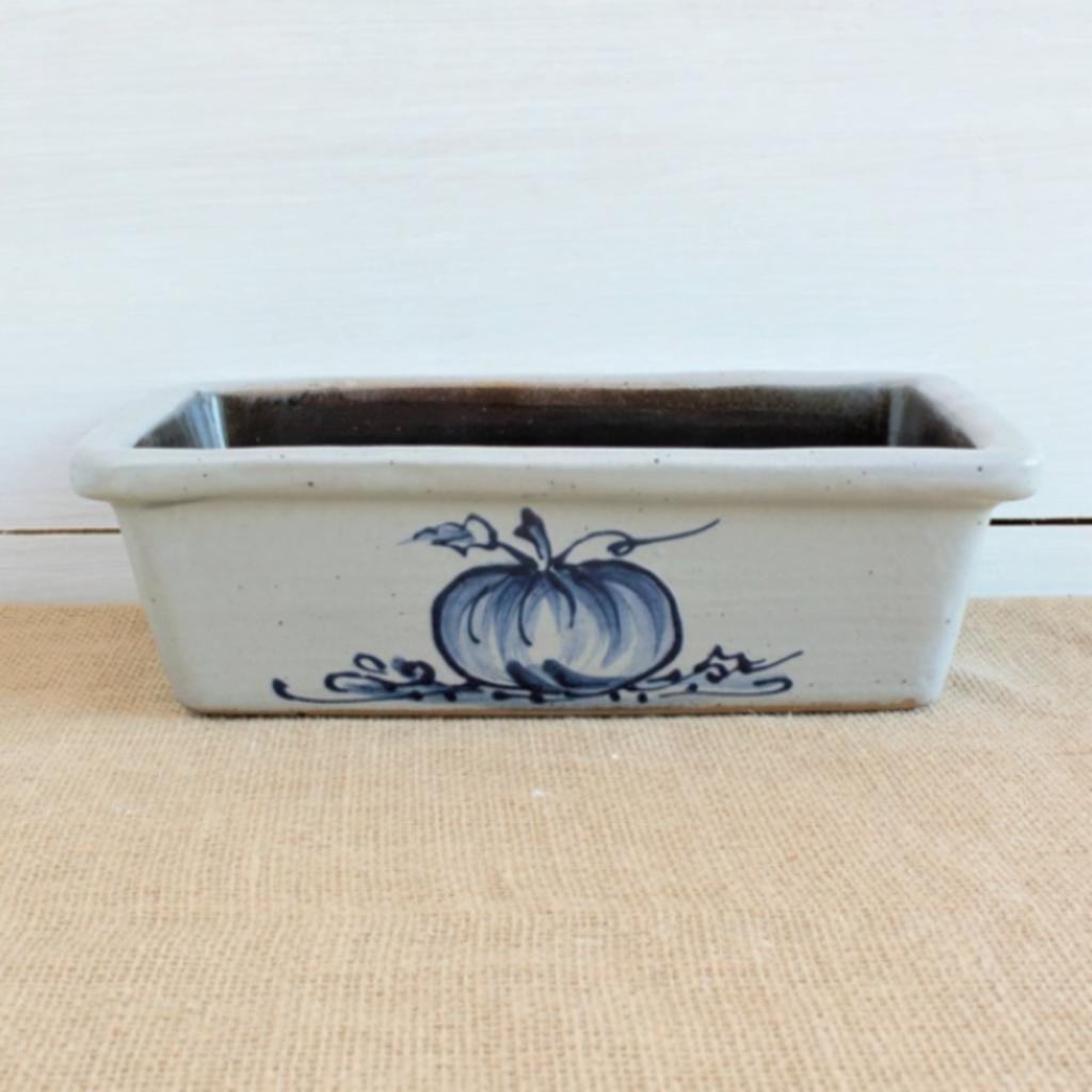Rowe Pottery - Pumpkin Loaf Pan