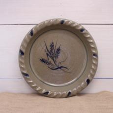 Rowe Pottery - Wheat Pie Plate