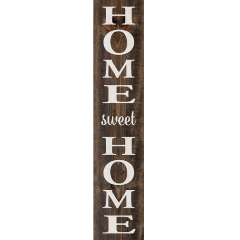 Wood Sign - Home Sweet Home (10x48)