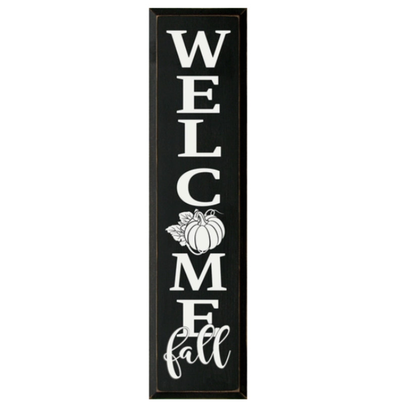 Wood Sign - Welcome Fall