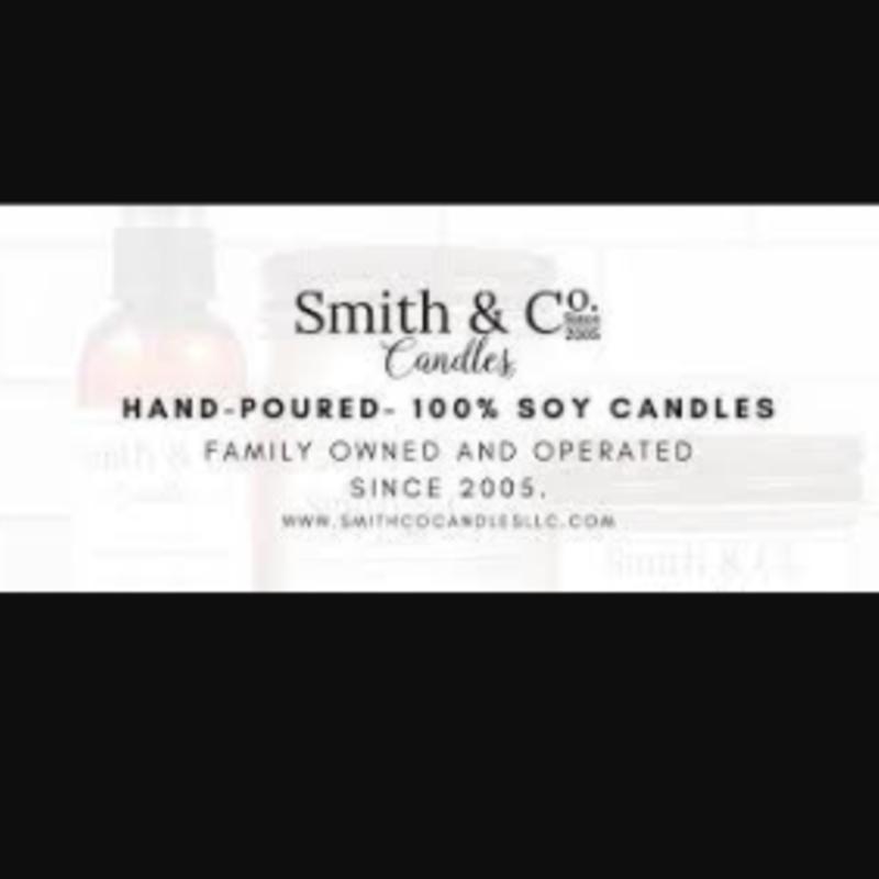 Large Mason Jar Candle - Smith & Co. Candles Lavender Woods