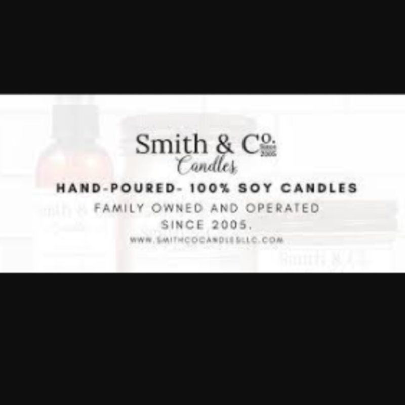 Large Mason Jar Candle - Smith & Co. Candles Frosted Cranberry