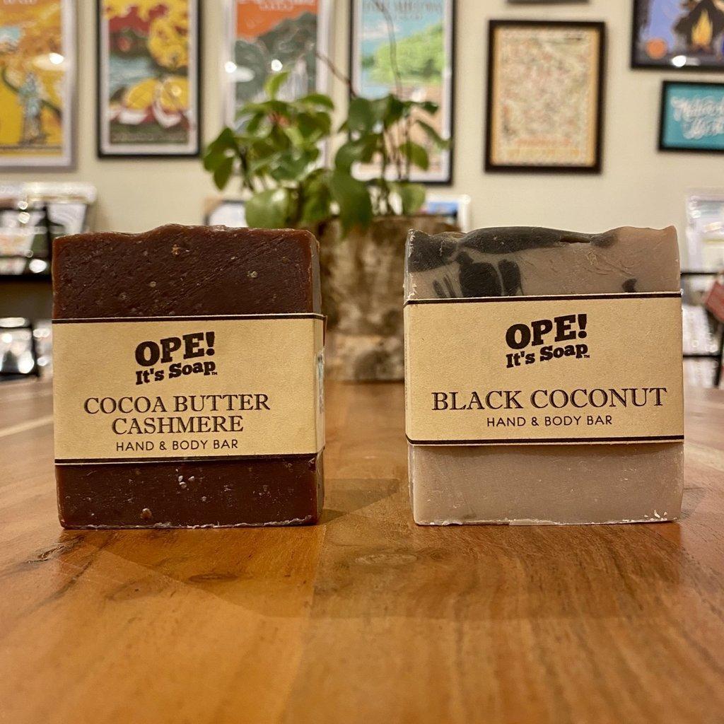 Ope! Soap - Black Coconut