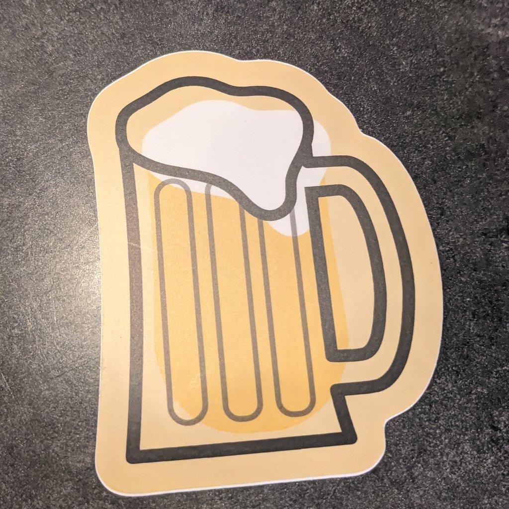 Sticker - Beer Mug