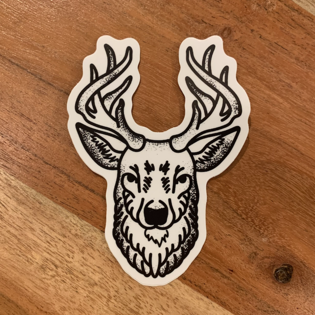 Sticker - Buck Head