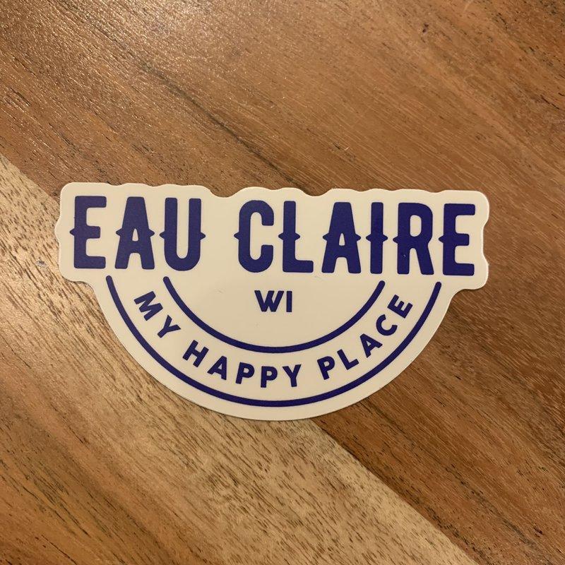 Sticker - Eau Claire WI My Happy Place