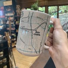 Volume One Eau Claire Map 15oz Ceramic Mug