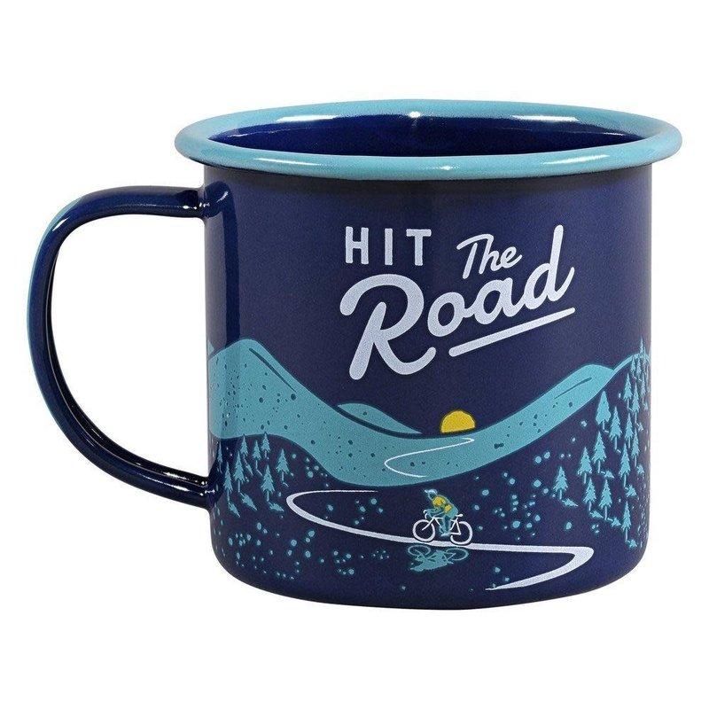 Gentlemen's Hardware Enamel Mug - Hit the Road