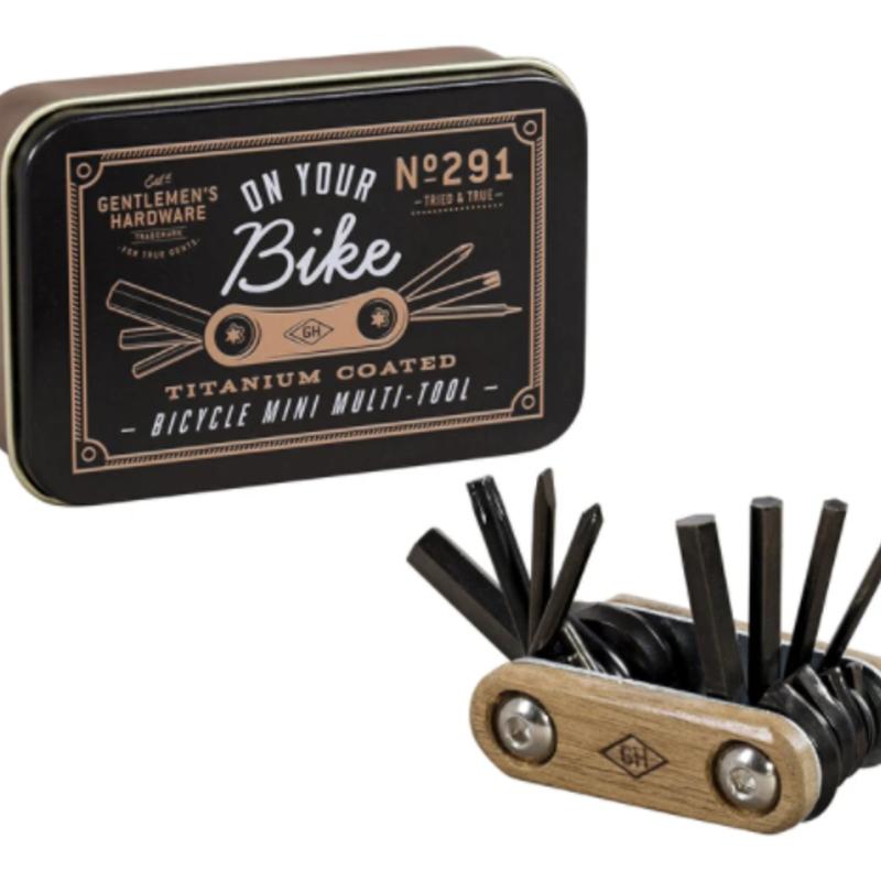 Gentlemen's Hardware On Your Bike - Mini Multi-Tool