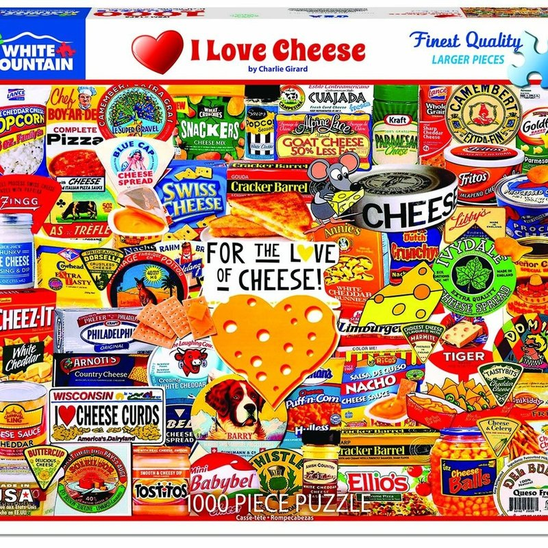 I Love Cheese - 1000 pc puzzle