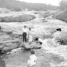 Volume One Vintage Big Falls Photo Print