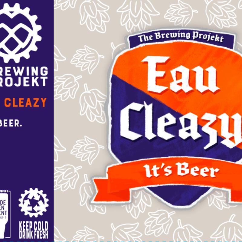 The Brewing Projekt Brewing Projekt Beer - Eau Cleazy