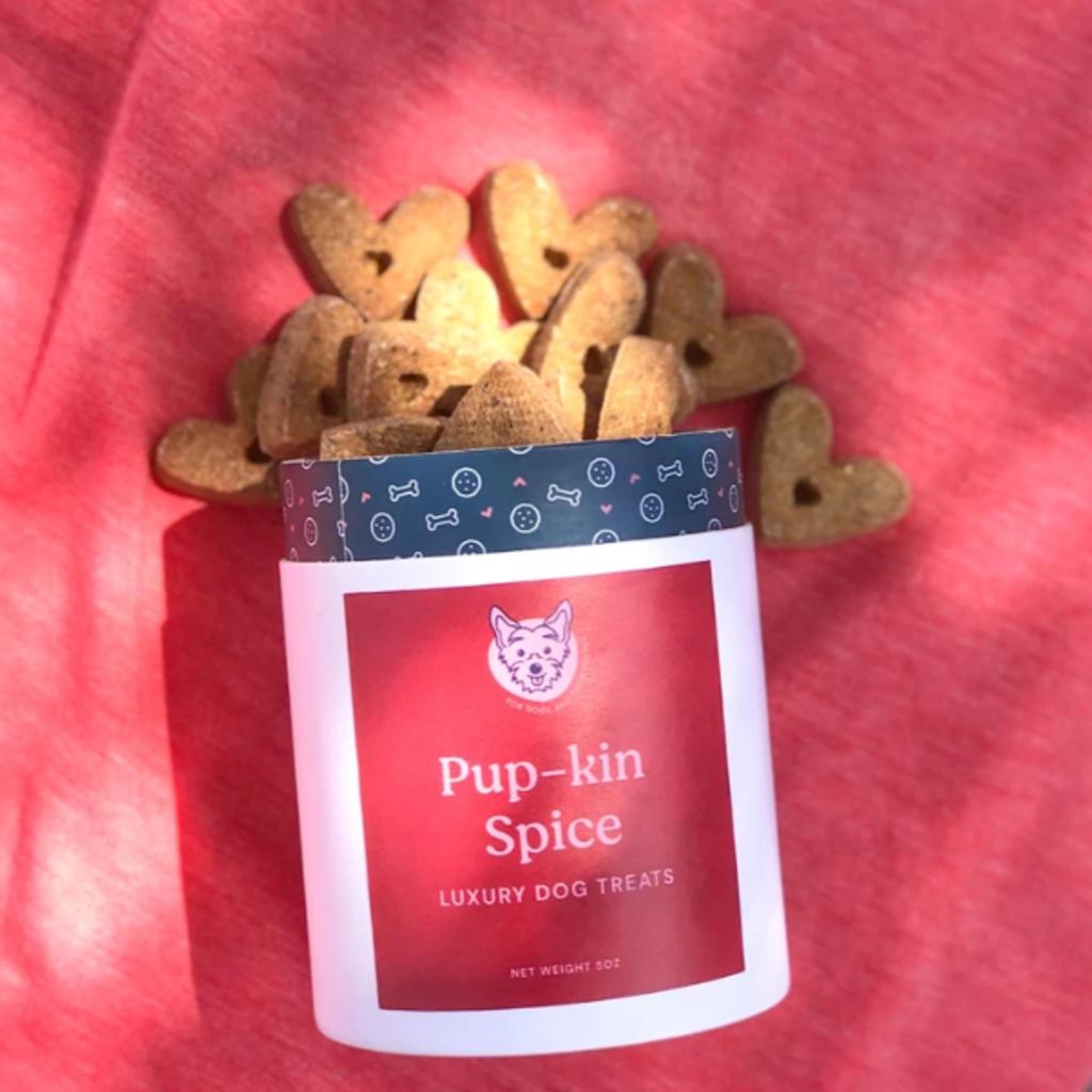 Dog Treats: Pup-kin Spice