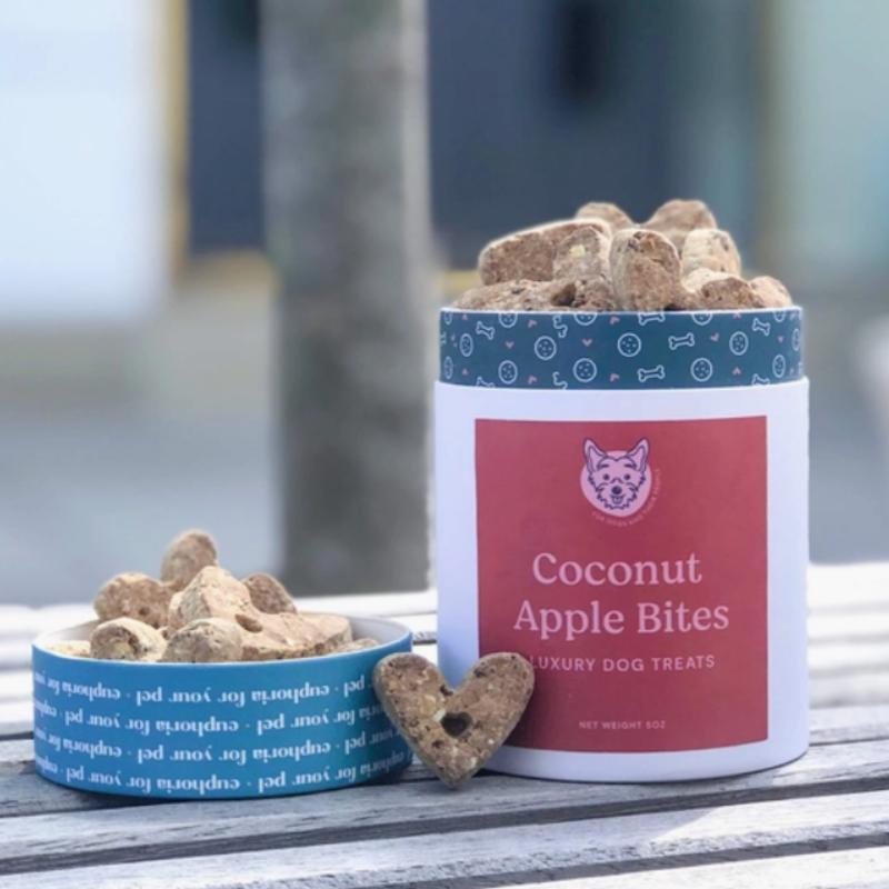 Dog Treats: Coconut Apple Bites