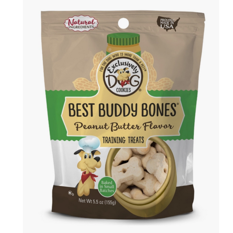Best Buddy Bones-Peanut Butter Flavor Dog Treat