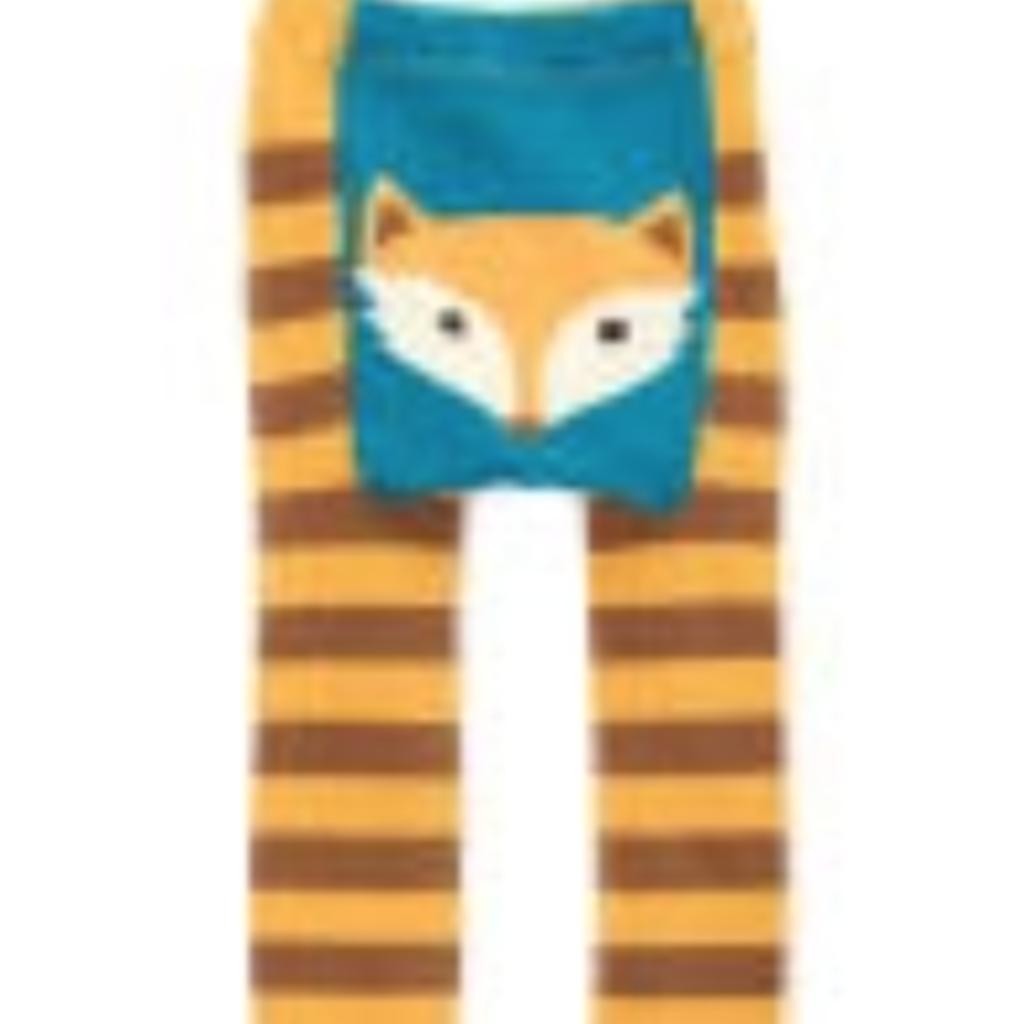 Volume One Kids Leggings - Woodland Fox