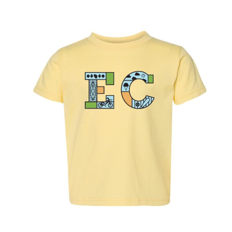 Volume One Toddler Tee - EC Icon