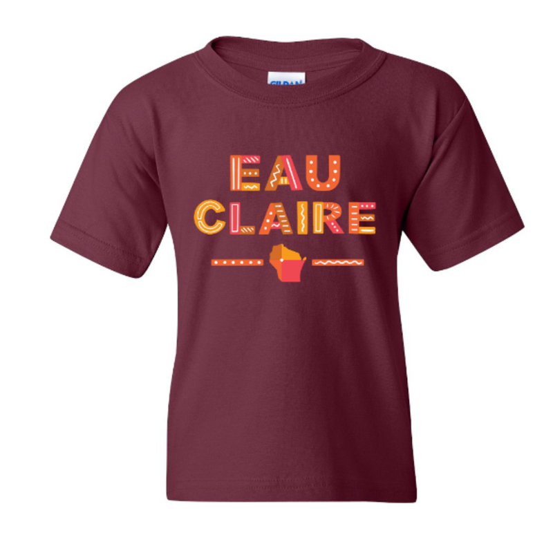 Volume One Youth Tee - Eau Claire Fun