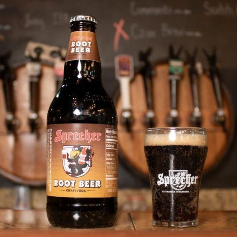 Sprecher Root Beer Bottle