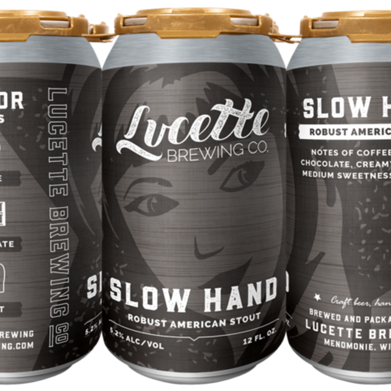 Lucette Brewing Lucette Beer - Slow Hand Stout