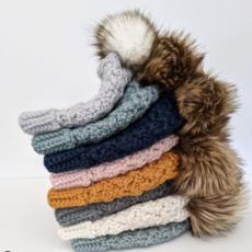 LameMaker Knitted Beanie W/Pom