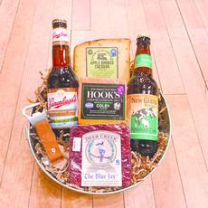 Volume One Gift Basket - Good Ole Beer N' Cheese