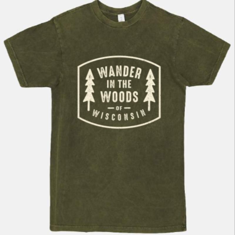 Volume One Wander in the Woods of Wisconsin Tee