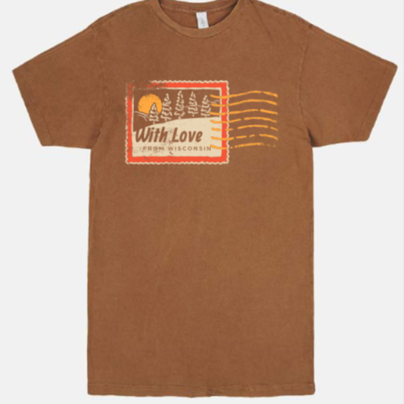 Volume One With Love from Wisconsin Stamp Tee